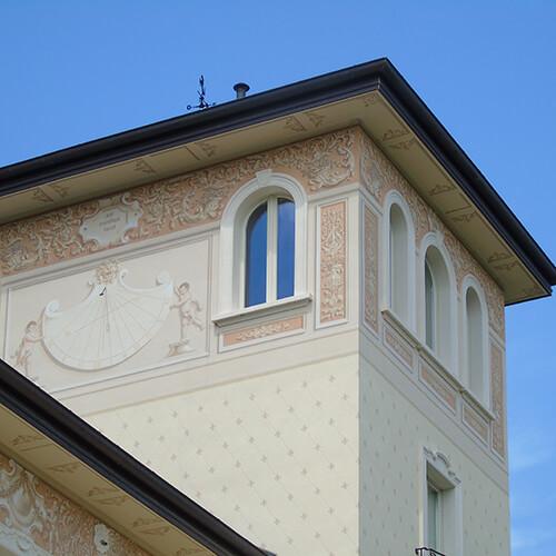Edificio storico - Serramenti in legno